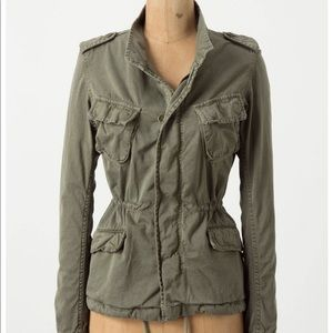 Hartford Cropped Utility Jacket by Anthropologie